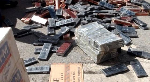 6 ayda 1,5 milyon paket kaçak sigara ele geçirildi
