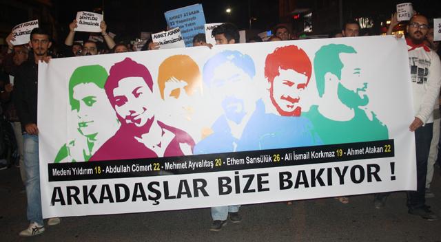 Slogan attıkları için soruşturma açıldı