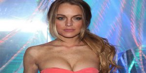 Lindsay Lohan'dan şaşırtan poz