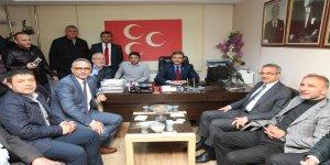 AK Parti'den MHP'ye tebrik ziyareti