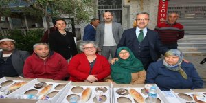 Köşklüçeşme'de iftar sofrası kuruldu