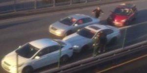 Son dakika... E-5'te otomobile silahlı saldırı