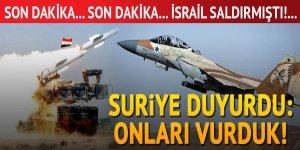 İsrail uçakları Suriye'yi vurdu! Kriz büyüyor