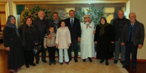 Şehit Aileleri Derneği, Köşker'i ziyaret etti