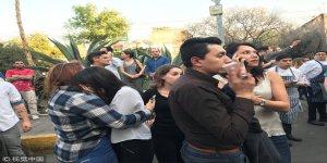 Meksika'da kıyamet gibi deprem