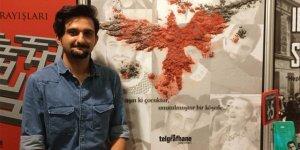 Yazar Halil Yeni  Kitap Fuarı'na katıldı