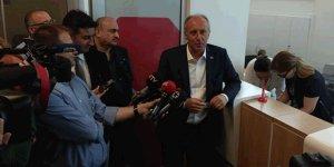 Muharrem İnce, Cumhurbaşkanı adaylarına bağışta bulundu