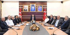 İl güvenlik veasayişkoordinasyon toplantısı gerçekleştirildi