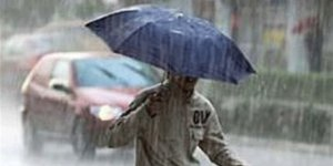 Sağanak yağmur uyarısı