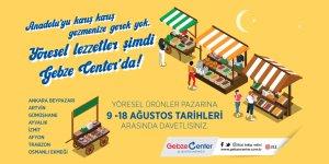 Gebze Center'dan Yöresel Ürünler Pazarı