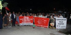 CHP'liler kutlama yaptı