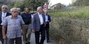 Gebze'nin köylerini gezdi