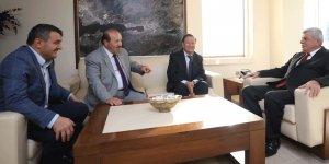 Moğol heyet Karaosmanoğlu ile görüştü