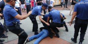 Polis müdahalesi: 15 gözaltı