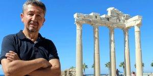 Rıdvan Şükür, adım adım antik Side'yi gezdi