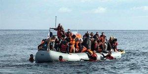 Bodrum'da sığınmacıları taşıyan tekne battı