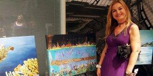 Değirmendereli ressam Malta'da sergi açtı