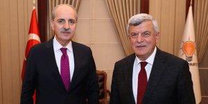 Karaosmanoğlu'nun AKP genel merkez ziyareti