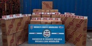 77 bin 500 paket sigara ele geçirildi