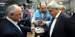 Karaosmanoğlu'ndan fabrika ziyareti