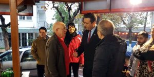 CHP'lilerden esnaf ziyareti
