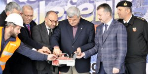71 milyon TL'lik teleferik projesinin temeli atıldı