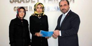 Saadet'e bir kadın aday daha