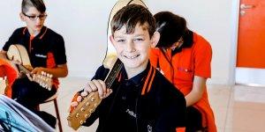 Benim enstrümanım. Mandolin
