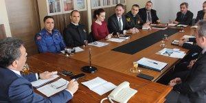 Kaymakamlıkta toplantı düzenlendi