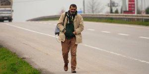 Malulen emekli olabilmek için Ankara'ya yürüyor