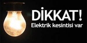 SEDAŞ planlı elektrik kesintisi