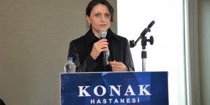 Hülya Aksoy kadın personellerle bir araya geldi