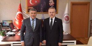 HAMZA ŞAYİR  Başsavcı'yı ziyaret etti