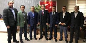 YENİDEN REFAH PARTİSİ GEBZE'DEN:Emniyet Müdürü'ne ziyaret