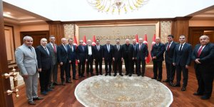 Güzeller OSB'den Vali Aksoy'a ziyaret