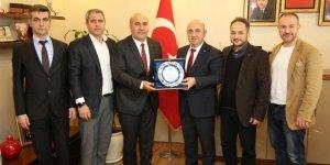 TÜMSİAD'DAN Muzaffer Bıyık'a ziyaret