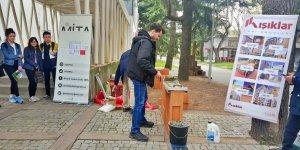 Mimarlık Bölümü öğrencileri Ekoklinker yapı ürünlerini işledi