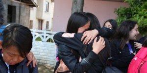 Moğol çocuklar gözyaşlarıyla ülkelerine döndü
