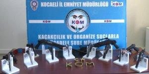 YASADIŞI 'SİLAH' TİCARETİ OPERASYONU: 8 kişiye tutuklama