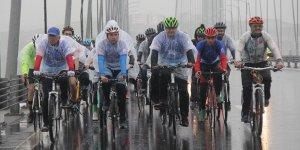 Osmangazi Köprüsü'nden bisikletle geçecekler