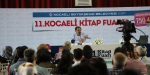 KOCAELİ KİTAP FUARI: Ahmet Ümit neden polisiye yazdığını anlattı