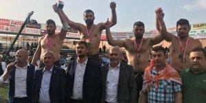 İzmit Belediyesporlu pehlivanlar bir altın, iki bronz madalya kazandı