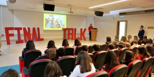 GTÜ'de 'Final Talk' programı düzenlendi