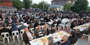 Şehit öğretmen Necmettin Kuyucu için iftar düzenlendi