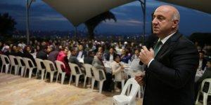 MUZAFFER BIYIK: Personeliyle iftar sofrasında buluştu