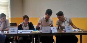 Özel Gebze Hisar Anadolu Lisesinde Münazara