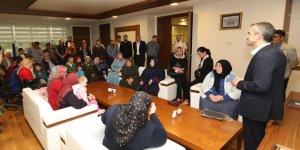 ÇAYIROVA:  Hayırlı olsun ziyaretleri sürüyor