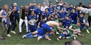 1 milyon nüfuslu sanayi kenti Gebze'nin takımı amatöre düşerken 62 bin nüfuslu ilçenin takımı;Ergene Velimeşe 2. Lig'de