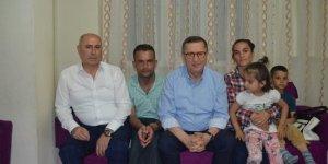 İYİ Parti'den aileye iftar ziyareti