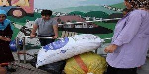 DARICA KEMAL ALİ GÜL İLKOKULU:  Plastik kapak toplama kampanyası düzenlendiler